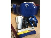 Body armour plus other kits for martial art