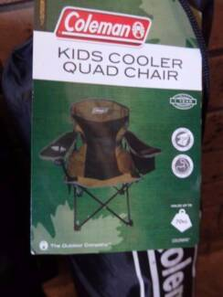 2 COLEMAN CAMP CHAIRS BRAND NEW PLUS 1 X ESKY