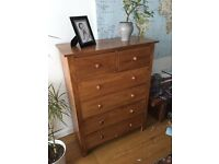 Free Wooden Chest of Drawers 4 + 2