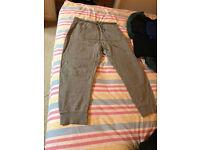 Zara grey sweatpants, Large, loose fit