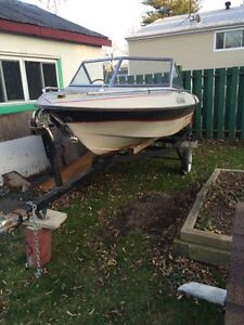 Boat and trailer for sale Cornwall Ontario image 1