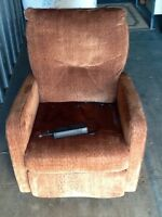 2 electric adjustable chair. One is new seniors lift chair