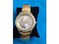 Brand new MK watch for lady's gold colour