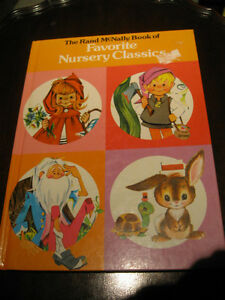 OLD '61 RAND McNALLY BED-TIME STORY BOOK for YOUNGSTERS