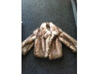 Girls Next Faux Fur Coat