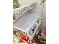 Kiddycare changing unit and bath