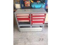 Bott van racking, fits all vans. Also useful for garages, sheds etc