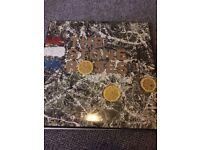 THE STONE ROSES DEBUT LP VINYL RECORD ORIGINAL PRESSING NOT A REISSUE. ORE LP 502 VERY RARE