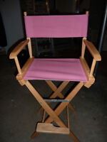 Pink Director's Chair COVER ONLY Saint John New Brunswick Preview