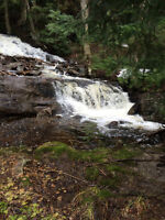 22+ ACRES WITH GORGEOUS 3 TIER WATERFALL