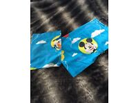 Mickey Mouse and Friends toddler bedding set, pillowcase and duvet cover