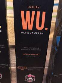 Muc-off warm up cream- like new