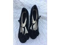 Rocha.John Rocha black shoes