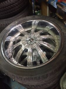 "24"" Authentic STARR wheels 6x139"