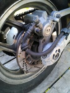 KAWASAKI ZX10 NINJA 1000 1986 COMPLETE FRONT END SUSPENSION Windsor Region Ontario image 10