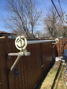 Enrouleur de toile solaire piscine (kit complet)