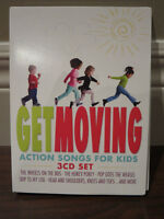 Get Moving: Action Songs For Kids Soundtrack