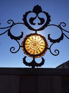 Beautiful stained glass decorative metal wall hanging London Ontario image 2