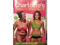 Charlotte's 3 minute belly blitz DVD