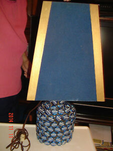 "ONE-OF-A-KIND ""OLD VIENNA BEER CAP"" LAMP FOR YOUR SPORTS MANCAVE Windsor Region Ontario image 1"