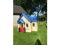 little tykes inflatable playhouse