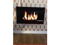 LCD screen electric fire
