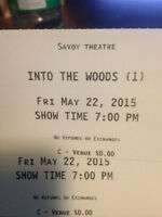 Into The Woods tickets !
