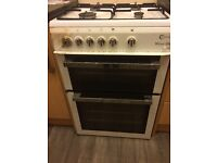 Gas cooker 60 cm working