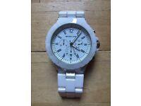 White Ceramic Michael Kors Watch