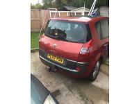 Renault scenic 1.9dci for spares or repairs