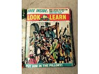 Look and Learn Vintage Magazines (No 53-78) - 1963