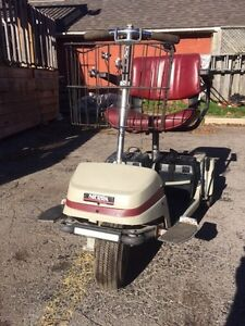 Older scooter with newer batteries. Works perfect! London Ontario image 4