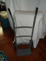 """2 Wheel Utility Hand Truck, with 8"""" Rubber Wheels"""