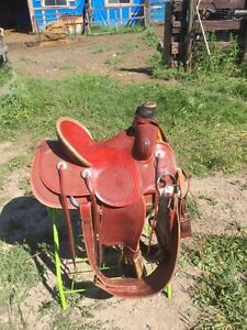 15.5 roper saddle for sale Strathcona County Edmonton Area image 2