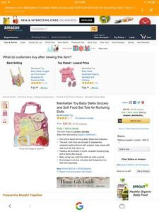 Baby Stella Grocery Tote - NEW London Ontario image 2