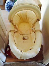 REDUCED - Mamas and papas Moses basket and stand