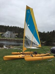 Hobie Cat with Mirage Drive
