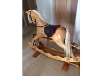 Ian Armstrong Wooden Rocking horse