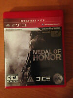 Medal of honor pour PS3
