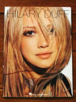 Hilary Duff Songbook [Piano/Vocal/Guitar]
