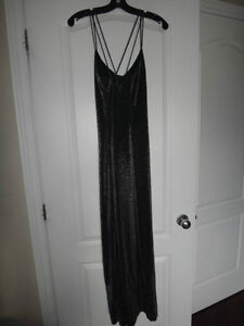 Beautiful shimmery silver dress for only $50!!!!