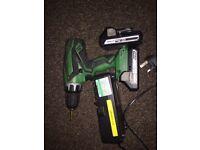 Hitachi combi drill + sander + heat gun