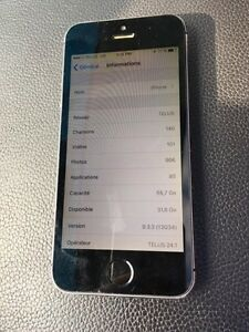 iPhone 5s 64gb Telus   NEGO  West Island Greater Montréal image 4