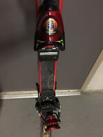 Olin Skis with Rossignol Bindings