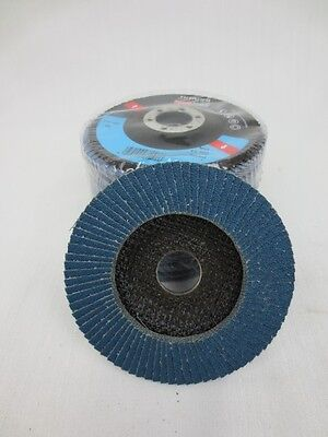 Fächerschleifscheibe - Zirkon - konisch 115mm / K60 Fächerscheibe Schleifscheibe