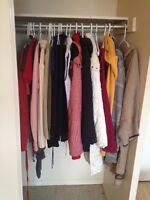 Moving Out, Clothing Sale! Top Quality for Dirt Cheap Prices!