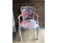 FRENCH LOUIS ARMCHAIR FREE DELIVERY SHABBY CHIC
