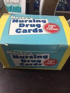 Mosby drug cards  Kitchener / Waterloo Kitchener Area image 1