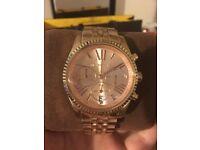 Genuine Michael Kors Rose Gold Watch