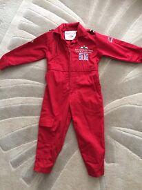Age 3-4 red arrows suit